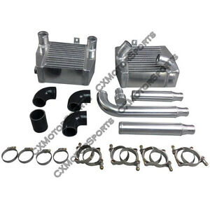 Cx Sm Intercooler Piping Kit For Mit 3000gt Vr4 Dodge Stealth Td04 Twin Turbo