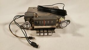 Vintage 1967 Ford Am Radio Fomoco Motorola 7tmf 175745 Custom Galaxie Ltd 12v