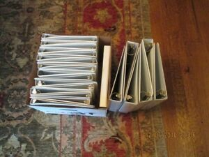 Lot Of 25 white 3 Ring Binders 19 1 Inch 6 2 Inch