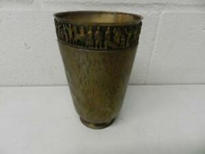 Large Evan Sterling Silver Mug Goblet Cup Drinking Glass See Markings Age