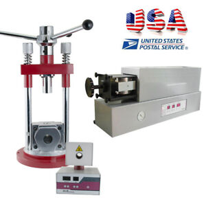 Usa Automatic manual Dental Lab Flexible Fake Teeth Denture Injection Machine