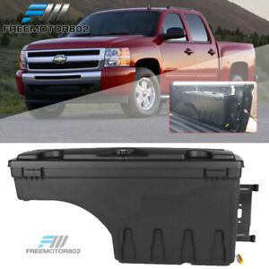 Fits 07 18 Chevy Silverado gmc Sierra Truck Bed Storage Box Passenger Side