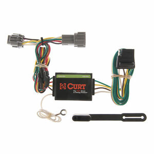 55362 Curt 4 Way Flat Trailer Wiring Connector Harness Fits Villager Quest