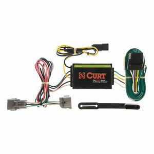 55260 Curt 4 way Flat Trailer Wiring Connector Harness Fits Jeep Grand Cherokee
