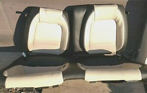 2015 2016 2017 Ford Mustang Gt Coupe Leather Bucket Rear Seats Oem