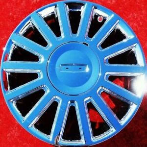 Exchange Set Of 4 New Chrome 17 Lincoln Town Car Oem Factory Wheels Rims 3504