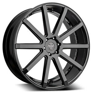 26 Inch 26x10 Versante Ve232 Matte Black Wheel Rim 6x5 5 6x139 7 20