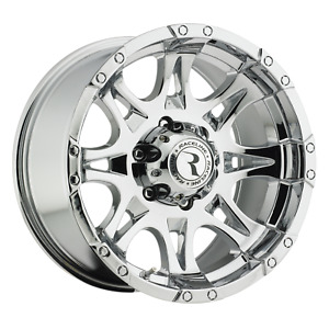 17 Inch 17x9 Raceline 983 Raptor Chrome Wheel Rim 6x5 5 6x139 7 0