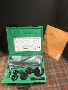 Greenlee 7806sb Quick Draw Hydraulic Punch Driver Set New