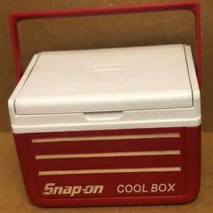 Snap On Tools Cooler Cool Box Made By Coleman Ice Chest Beer Lunch Red