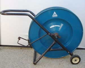 Delta Industrial Core Banding Strapping Dispenser Cart With Tensioner