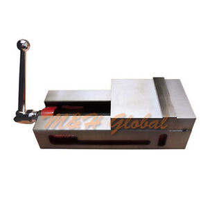6 Super lock Precision Cnc Vise 0 0004 For Nc cnc Milling New free Shipping