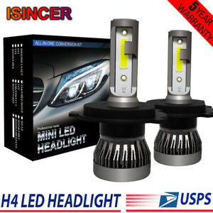 H4 Hb2 9003 Led Headlight Conversion Kit 2200w 310000lm Hi Lo Beam Bulbs 6000k
