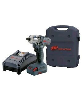 Ingersoll Rand W5130 k1 3 8 Inch 20v Li ion 1 5ah Cordless Impact Kit With Case