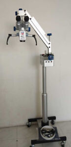 Surgical Microscope For Dentist 3 Step Surgical Dental Microscope White