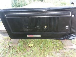 1967 1968 Mercury Cougar Non Xr7 Drivers Door Panel