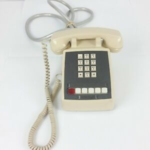 Comdial 6 Button 1a2 Key Telephone Beige 1984