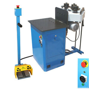 1hp Hv Ring Band Steel Roller Pinch Roll Bender Machine Round Square 1 1 4