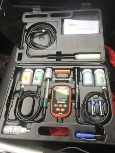 Extech Do700 Dissolved Oxygen Meter Ph Tds Conductivity Meter Kit New