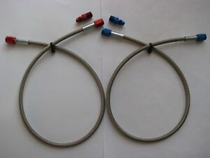 Nos Nitrous Nx Zex Holley Big Shot Cheater 24 3an 3an Blue Red Line Hose Kit
