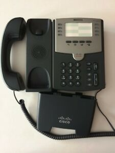 Cisco Spa501g 8 line Voip Business Phone With 2 port Switch Poe And Paper Label