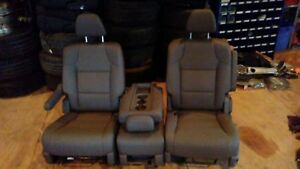 Leather Van Seats
