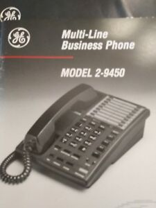Ge 2 9450a 4 Line Business Phone