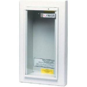 Kidde Heavy Duty Steel Tempered Safety Glass Fireproof Cabinet Fire Extinguisher
