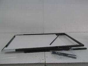 Quartet Futura Easel Whiteboard flipchart 24 X 36 Inches Black Frame 351900
