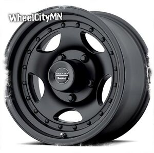 16 X8 Black American Racing Ar23 Wheels Fits Ford F250 F250 Excursion 8x170 0