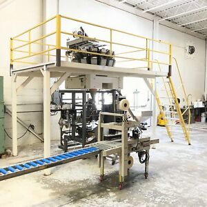Complete Vertical Form Fill And Seal And Ishida Scale Pillow Bag Production Line