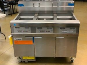 Frymaster 3fqg30u lp 3 Bank Gas Fryer