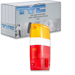 Tyc Left Tail Light Assembly For 1984 1988 Toyota Pickup Ie