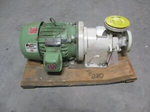 Hmd Sealless Pump With Motor Stainless Mod Tc19 Gpm 100 1241232c new