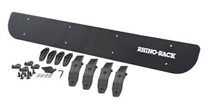 Rf4 Rhino rack Usa 50 Wind Fairing W Universally Fitting Clamps Reduces Noise