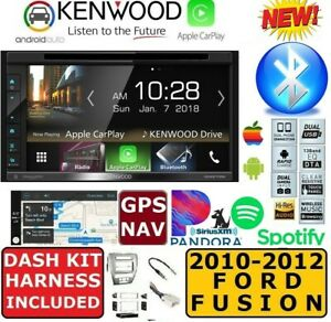 2010 2012 Ford Fusion Apple Carplay Android Auto Gps Nav Bluetooth Usb Stereo