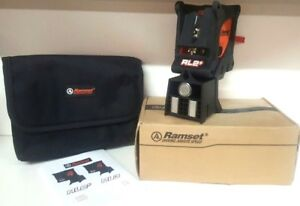 Ramset Rl2 Plus Combo Pocket Laser Point W Carry Case nib