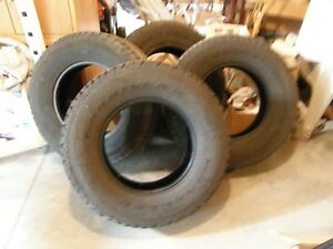 4 Goodyear Wrangler Tires Sr A Lt 245 75r 16 Very Good Cond Local P U Only