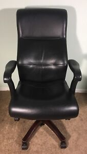 Keilhauer Danforth 4772 Executive Conference Chair Black Leather