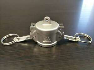 4 Inch Camlock Fitting Type Dc 316 Stainless Steel Camlock Dust Cap