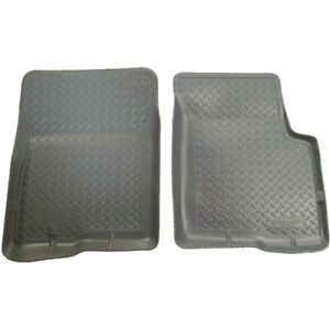 35112 Husky Liners Grey Classic Front Floor Mats For Toyota Tacoma 1995 2004