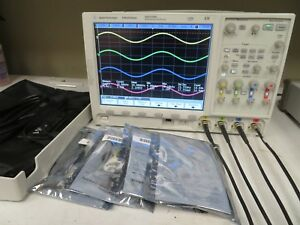 Agilent Dso7104a Mso Enabled mso7104a Oscilloscope 1 Ghz Opt 4x 10073c Nh6
