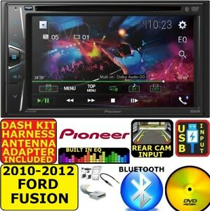2010 12 Ford Fusion Pioneer Am Fm Cd Dvd Bluetooth Usb Car Radio Stereo Pkg