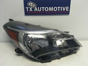2015 2016 2017 Toyota Yaris Headlight Hatchback Right Passenger Halogen Oem K161
