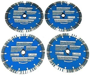 7 Diamond Blade For Skil Saw Birck Pavers Stone Roof Tile 4 Pack