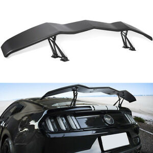 Racing Rear Trunk Spoiler Wing Lip Universal For Chevrolet Dodge Ford Mustang Gt