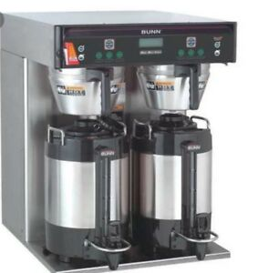 Used Bunn Icb Twin Infusion Airpot Commercial Coffee Maker