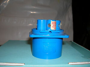 Hubbell Model 520b9 Pin And Sleeve Device Male End 20a 3ph 120 208 Vac