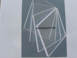 1 2 Clear Acrylic Plexiglass Sheet 19 X 24 Reduced Price see Details
