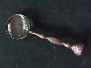 Vtg Large Magnifying Glass W Ornate Handle 12 L Free Shipping